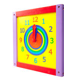 Toy clock Royalty Free Stock Image