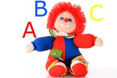 Toy clown Stock Image