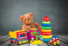 Toy collection Royalty Free Stock Photos