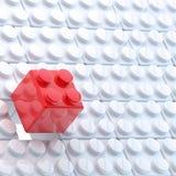 Toy construction blocks background Stock Image