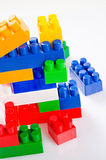 Toy construction Royalty Free Stock Images