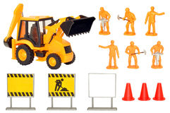Toy Construction Play Set Royalty Free Stock Images