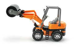 Toy  Construction Vehicle Royalty Free Stock Photography