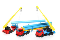 Toy Construction Works 2 Stock Photo
