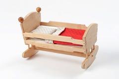 Toy cradle stock photo
