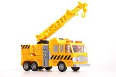 Toy Crane. On White Background Stock Photos