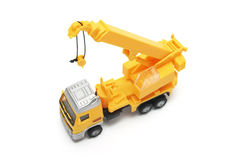 Toy Crane Truck Royalty Free Stock Photography