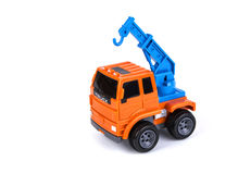 Toy Crane Truck Stock Images