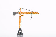 Toy crane two Stock Images