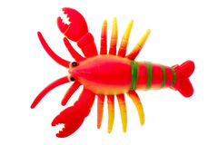 Toy crayfish Royalty Free Stock Images