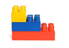 Toy cube Stock Image