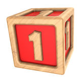 toy cube 1 Royalty Free Stock Photography