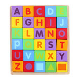 Toy cubes Stock Photography