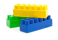 Toy cubes Stock Images