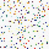 Toy Cubes Pattern Stock Image