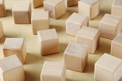 Toy cubes royalty free stock photos
