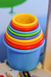 Toy cups Royalty Free Stock Images