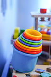 Toy cups Stock Photography