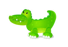 Toy cute crocodile Royalty Free Stock Photography