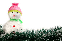 Toy decoration snowman Royalty Free Stock Photo