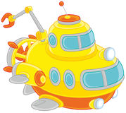 Toy deepsea Submarine Royalty Free Stock Images
