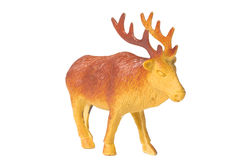 Toy deer Royalty Free Stock Photos