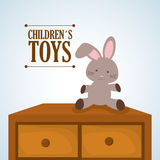 Toy design, childhood and game concept Royalty Free Stock Photography