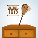 Toy design, childhood and game concept Stock Photography