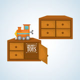 Toy design, childhood and game concept Royalty Free Stock Photo
