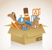 Toy design Royalty Free Stock Images