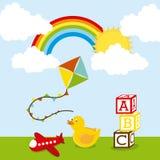 Toy design Stock Image