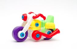 Toy designer plastics Royalty Free Stock Photos