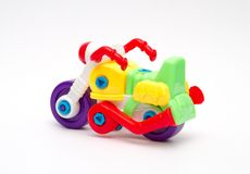 Toy designer plastics Royalty Free Stock Photo
