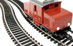 Toy Diesel Locomotive Royalty Free Stock Image