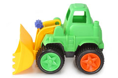 Toy digger Stock Image