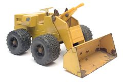 Toy Digger Royalty Free Stock Photos