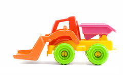 Toy digger Stock Images