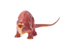 Toy Dinosaur Royalty-vrije Stock Afbeeldingen