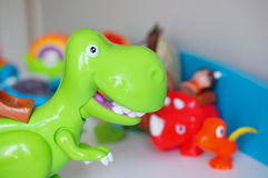 Toy Dinosaur Lizenzfreie Stockfotos