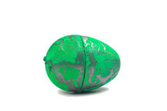 Toy Dinosaur egg for Easter Stock Photography