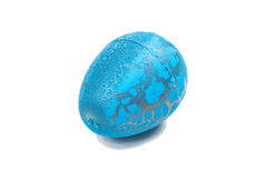 Toy Dinosaur egg for Easter Royalty Free Stock Image