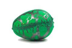 Toy Dinosaur-ei voor Pasen Stock Afbeelding