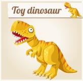 Toy Dinosaur Ilustración del vector de la historieta serie Imagen de archivo