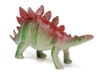 Toy dinosaur stegosaurus. Isolated on white background Stock Photography