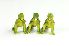 Toy Dinosaurs: T-Rex Royalty Free Stock Photo