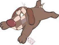 Toy dog. Cartoon Royalty Free Stock Photos