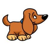 Toy dog cartoon illustration Royalty Free Stock Images