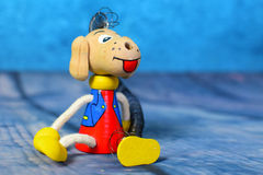 Toy dog detail Stock Images