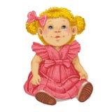 Toy Doll stock illustrationer