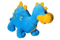 Toy dragon isolated. A plush toy dragon isolated on white Stock Photo